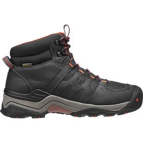 Keen M's Gypsum II Mid Waterproof Shoes India Ink/Burnt Ochre